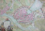 Die wachsende Stadt, Bild zur gleichnamigen Ausstellung